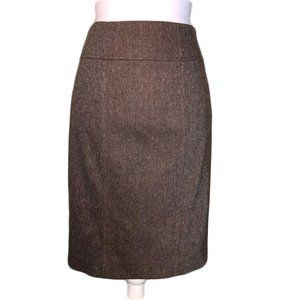 Banana Republic Pencil Skirt Brown Size 0